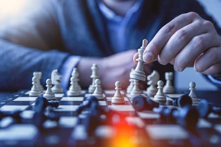 Finding an advantage in real estate can be like chess
