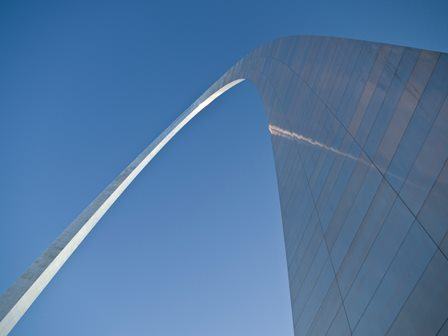 Arch is a symbol of St. Louis