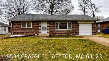 Home Listing in Affton